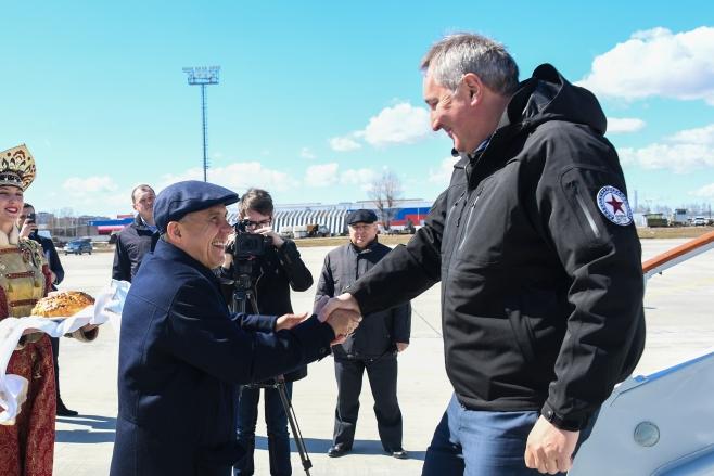 ВКазань срабочей поездкой прибыл Дмитрий Рогозин