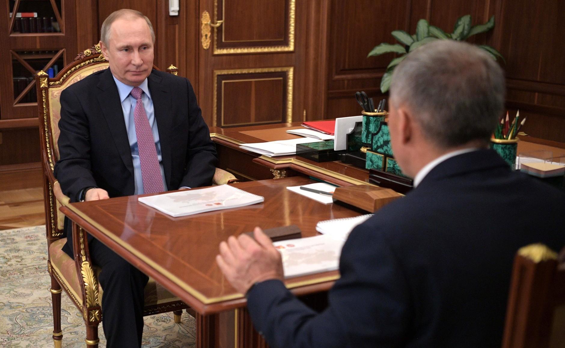 встреча минниханов путин кремль