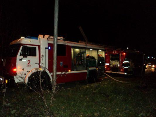 ВКазани 28 жильцов пятиэтажки были спасены изпожара