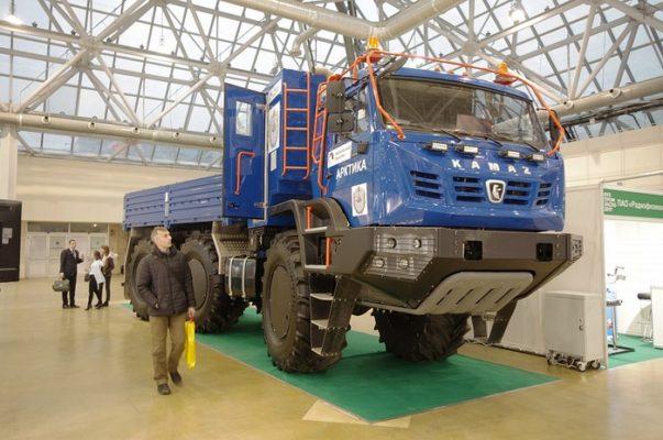 В Москве представлен новый «КАМАЗ-Арктика»