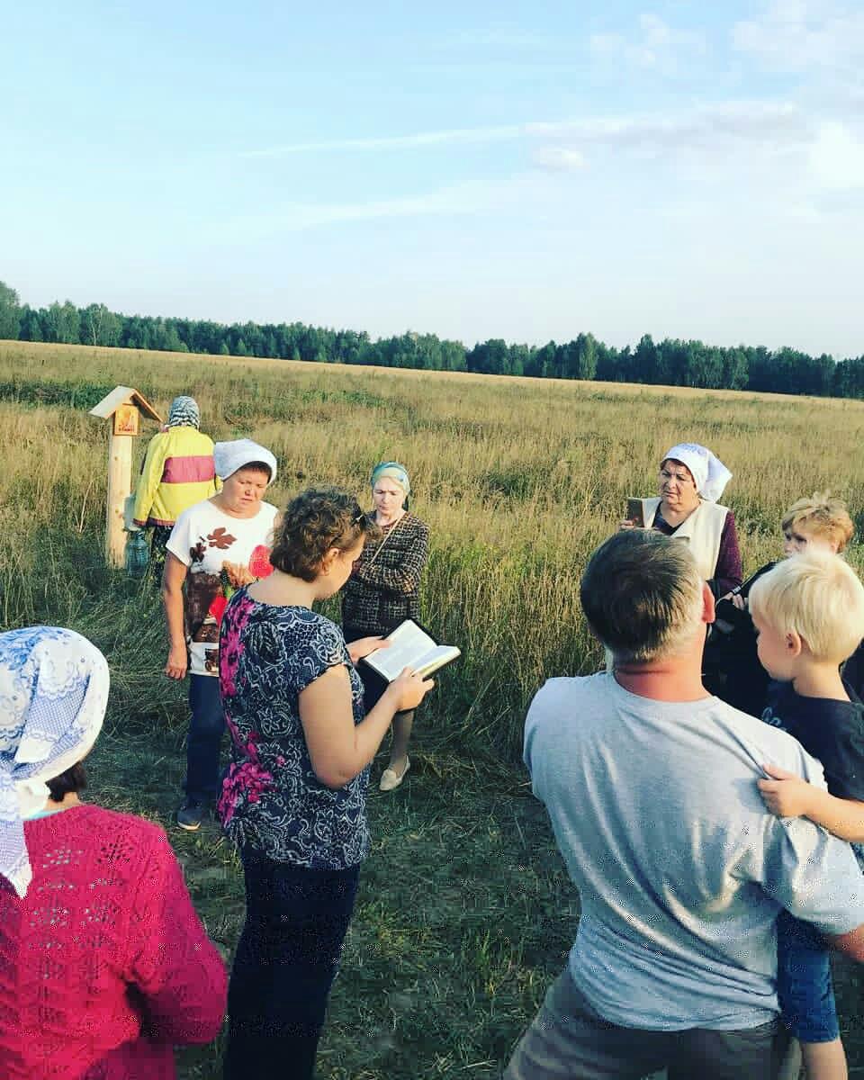 Молитва против строительства мусоросжигающих заводов в России и Казани